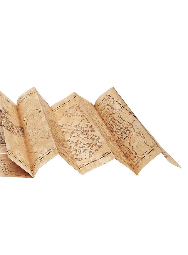 Karte Des Rumtreibers.Harry Potter Karte Des Rumtreibers